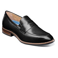 Nunn Bush Fifth Ave Flex Men's Moc Toe Dress Penny Loafers