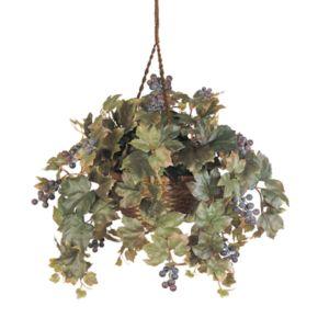nearly natural Hanging Silk Grape Vine