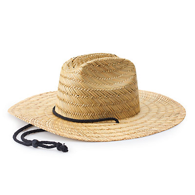 Men's Urban Pipeline? Straw Lifeguard Hat