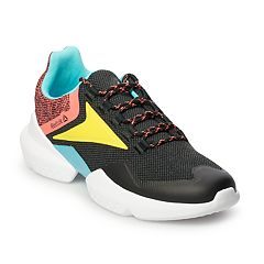 d8629e1776ec5c Reebok Split Fuel Men s Sneakers. Black Rose Yellow White Black Royal Gray  Black Lime