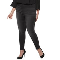 Plus Size Jennifer Lopez Embellished Jeggings