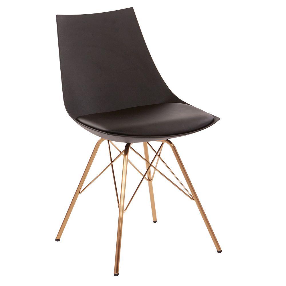 Avenue Six Oakley Faux Leather Chair