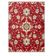 StyleHaven Borderless Floral Traditional Rug