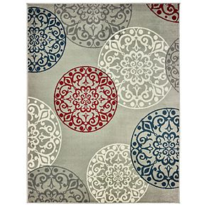 StyleHaven Floating Medallions Rug
