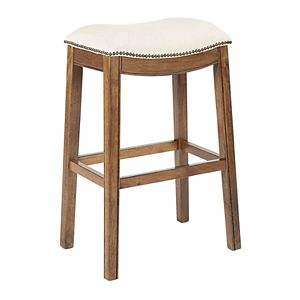 Enjoyable Madison Park Nomad 27 Saddle Counter Stool Unemploymentrelief Wooden Chair Designs For Living Room Unemploymentrelieforg