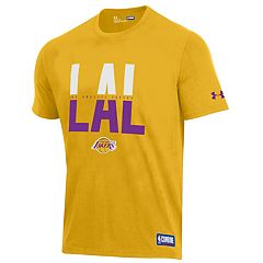 6c4e1b2ef9b8 Men s Under Armour Los Angeles Lakers City Abbreviation Tee