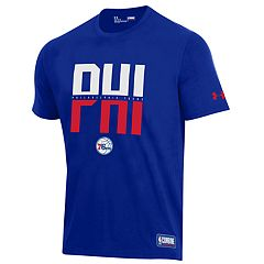 Men's Under Armour Philadelphia 76ers City Abbreviation Tee