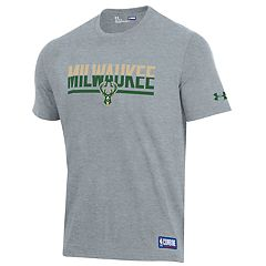 Men's Under Armour Milwaukee Bucks Split City Tee