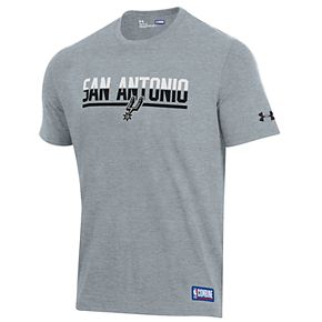 Men's Under Armour San Antonio Spurs Split City Tee