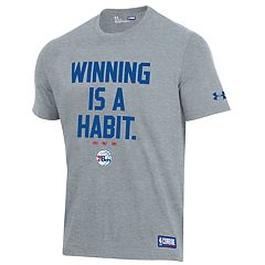 Men's Under Armour Philadelphia 76ers Winning Is A Habit Tee