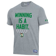 991dc4a87 Men s Under Armour Boston Celtics Winning Is A Habit Tee