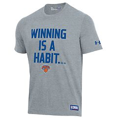 4366b6690 Men s Under Armour New York Knicks Winning Is A Habit Tee