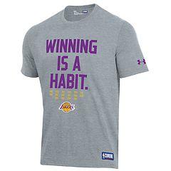 Men's Under Armour Los Angeles Lakers Winning Is A Habit Tee
