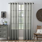 Archaeo Slub Textured Linen Window Curtain