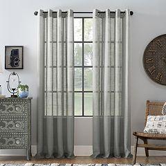 Archaeo Slub Textured Linen Window Curtain