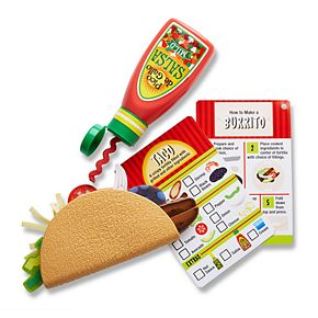 Melissa & Doug Fill & Fold Taco & Tortilla Set