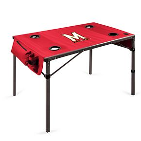 Picnic Time Maryland Terrapins Portable Folding Table