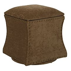 Avenue Six St. James Swivel Ottoman