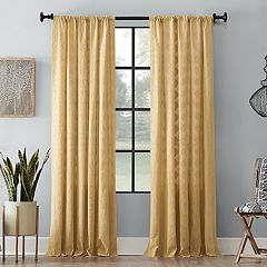 Archaeo Diamond Fray Cotton Window Curtain