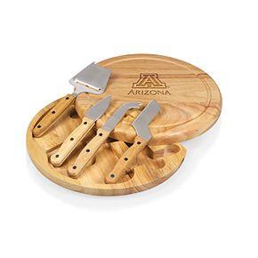 Picnic Time Arizona Wildcats Circo Cheese Cutting Board Set