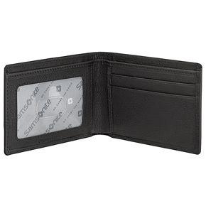 Men's Samsonite RFID-Blocking Front-Pocket Leather Slimfold Wallet