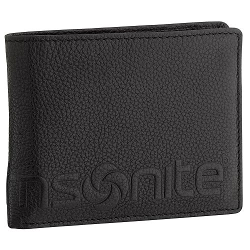 Men's Samsonite RFID-Blocking Leather Credit Card Billfold