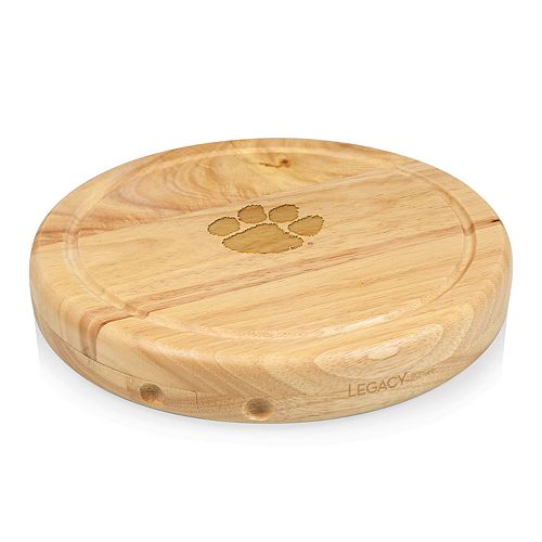 Picnic Time Clemson Tigers Circo Cheese Cutting Board Set