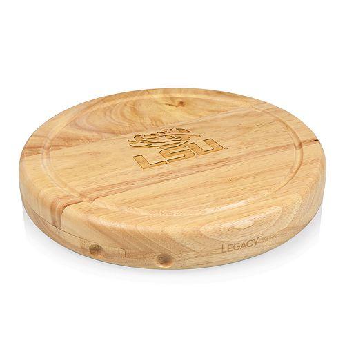 Picnic Time LSU Tigers Circo Cheese Cutting Board Set