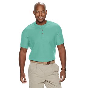 Men's Croft & Barrow® Classic-Fit Easy-Care Pique Henley