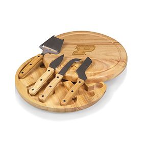 Picnic Time Purdue Boilermakers Circo Cheese Cutting Board Set