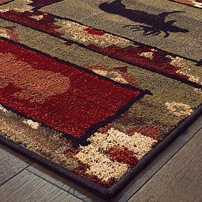 StyleHaven Wiley Nature Silhouettes Rug