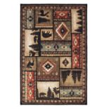 StyleHaven Wiley Lodge Patchwork Rug