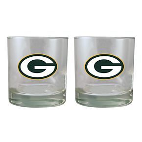 Green Bay Packers Rocks Glass Set
