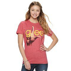 Juniors' Glee Logo Graphic Tee