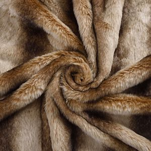 Classic Elegance Faux Fur Throw