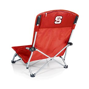 Picnic Time North Carolina State Wolfpack Tranquility Portable Beach Chair