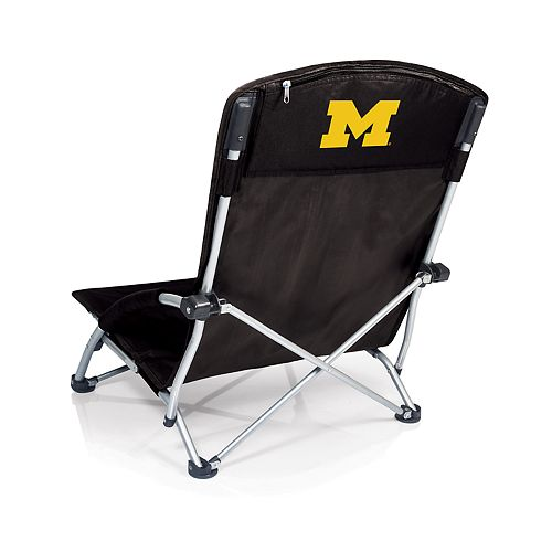Picnic Time Michigan Wolverines Tranquility Portable Beach Chair