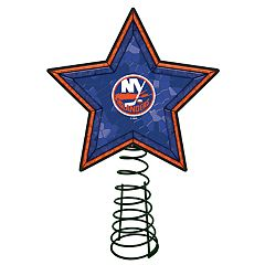 New York Islanders Mosaic Christmas Tree Topper