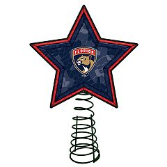 Florida Panthers Mosaic Christmas Tree Topper