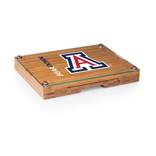 Arizona Wildcats Concerto Glass-Top Cutting Board Set