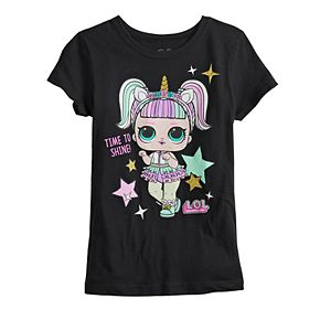 """Girls 7-16 L.O.L. Surprise """"Time to Shine"""" Graphic Tee"""