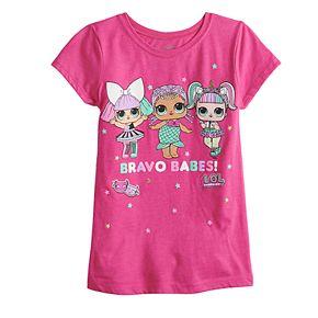 "Girls 7-16 L.O.L. Surprise ""Bravo Babes"" Graphic Tee"