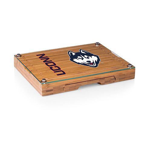 UConn Huskies Concerto Glass-Top Cutting Board Set