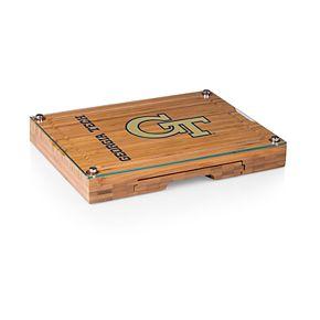 Georgia Tech Yellow Jackets Concerto Glass-Top Cutting Board Set