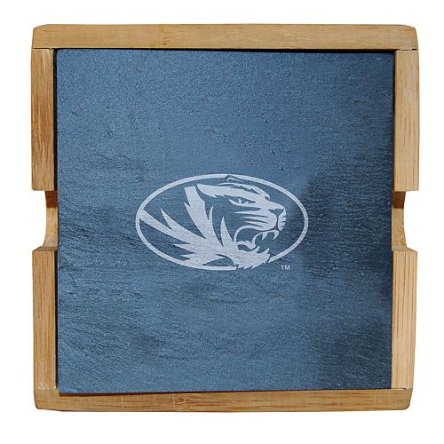 Missouri Tigers Slate Coaster Set