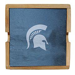 Michigan State Spartans Slate Coaster Set