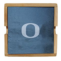 Oregon Ducks Slate Coaster Set