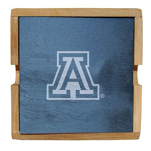 Arizona Wildcats Slate Coaster Set