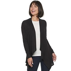 Women's Apt. 9® Woven Back Cardigan