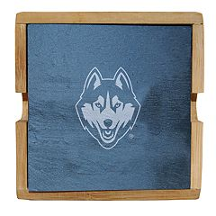 UConn Huskies Slate Coaster Set